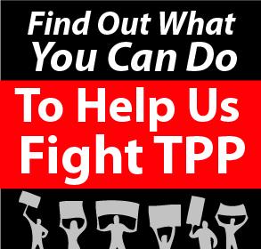 Help Us Stop TPP